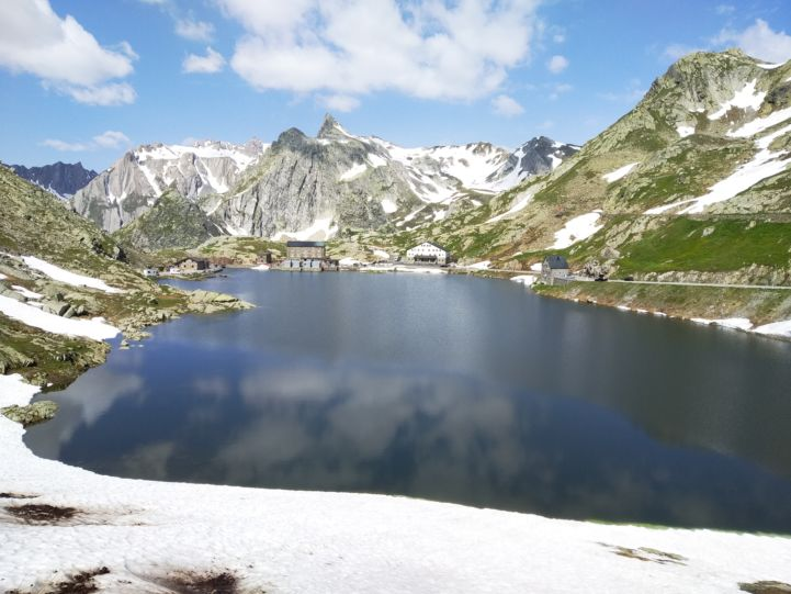 The incredibly gorgeous lake at the top of the Great St. Bernard Pass.jpg