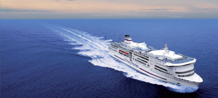 Brittany Ferries between England and France
